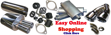 Visit our Exhaust Parts Online Shop