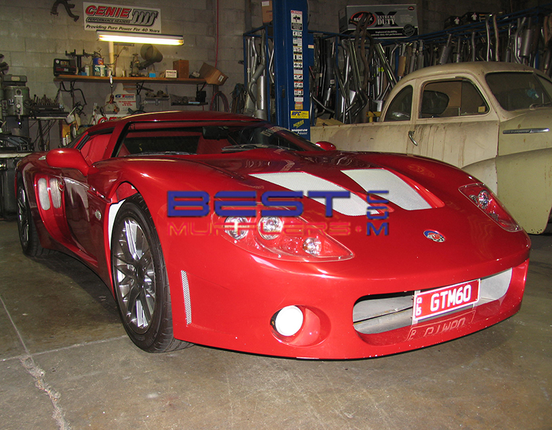 Factory 5 GTM Custom Exhaust System
