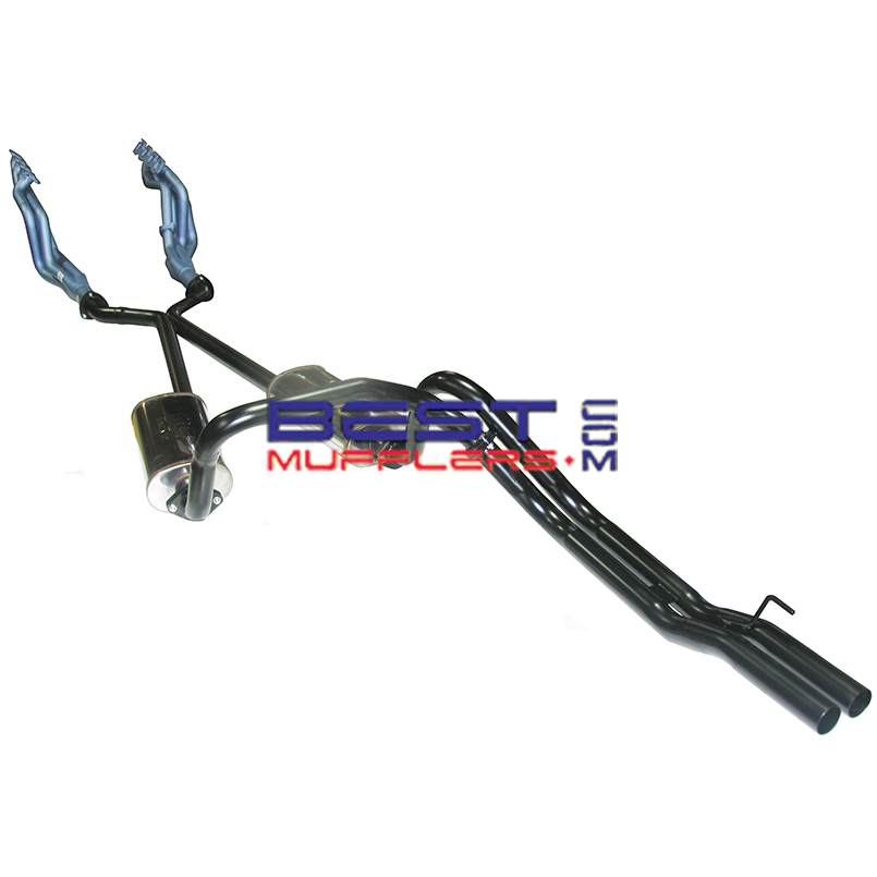 ford falcon xd pacemaker headers  u0026 twin exhaust system