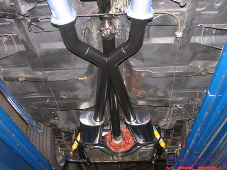 Ford XC Coupe Exhaust