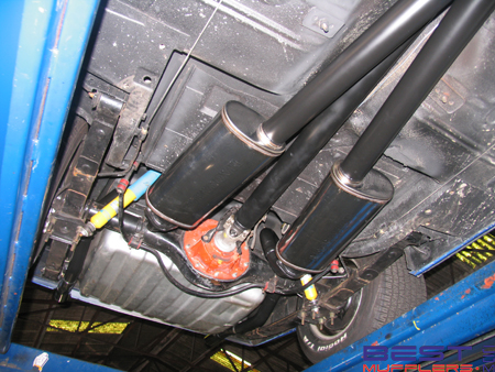 Ford XC Coupe Exhaust System