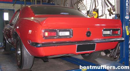 Camaro SS 1968 Custom Exhaust