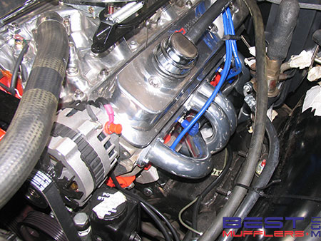 Holden HQ One Tonner Custom Headers  & Twin System