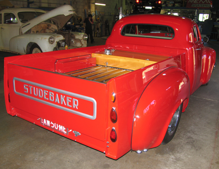 Studebaker Exhaust