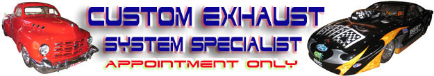 Click For Custom Exhaust Systems