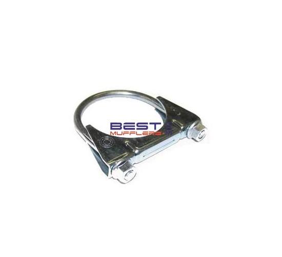 Muffler & Exhaust Pipe Clamp Range 51mm to 54mm Mild Steel [Zinc Coated] PN# C9-Clamp
