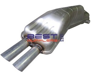 Bmw 735I [E32] 3 4ltr 6cyl M30 3/1987 to 11/1992 Factory Fit Rear Muffler  Assembly [M7757]