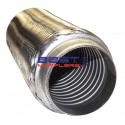 "Flexible Exhaust Bellow 3"" Inlet / Outlet 8"" Long [202mm] Low Rpm Applications PN# CF076-202S"