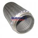 "Flexible Exhaust Bellow 4"" Inlet / Outlet 10"" Long [250mm] Low Rpm Applications PN# CF102-250S"