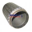 "Flexible Exhaust Bellow 4"" Inlet / Outlet 8"" Long [202mm] Low Rpm Applications PN# CF102-202S"